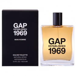 GAP GAP ESTABLISHED 1969 FOR MEN EDT