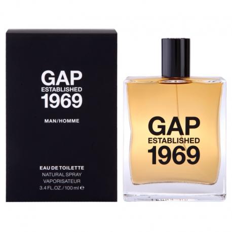 GAP GAP ESTABLISHED 1969 FOR MEN EDT