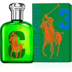 RALPH LAUREN BIG PONY COLLECTION 3 GREEN MEN EDT