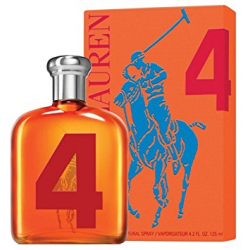 RALPH LAUREN BIG PONY COLLECTION 4 ORANGE MEN EDT