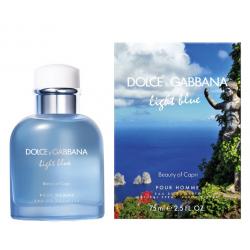 DOLCE & GABBANA LIGHT BLUE BEAUTY OF CAPRI POUR HOMME EDT