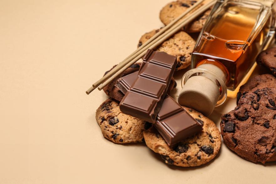 Perfumy i czekolada